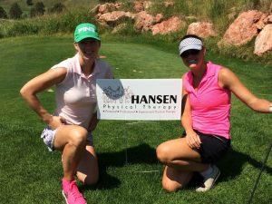 "Hansen Physical Therapy sponsored breast cancer fundraiser golf tournament ""paint the rock pink"" at red rock golf course. All proceeds stay local."